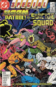 Doom Patrol and Suicide Squad
